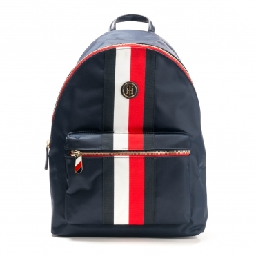 Tommy Hilfiger Poppy Backpack Stripe Womens Bag