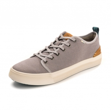 TOMS Airforce Blue Heritage Canvas Mens Trvl Lite Low Mens Sneaker