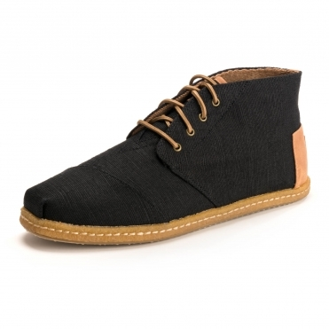 TOMS Back Heritage Canvas Mens Bota Boot