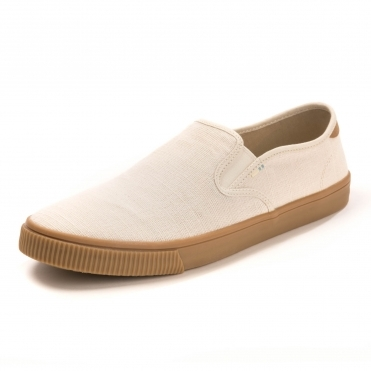 TOMS Birch Heritage Canvas Gum Mens Baja Slip On