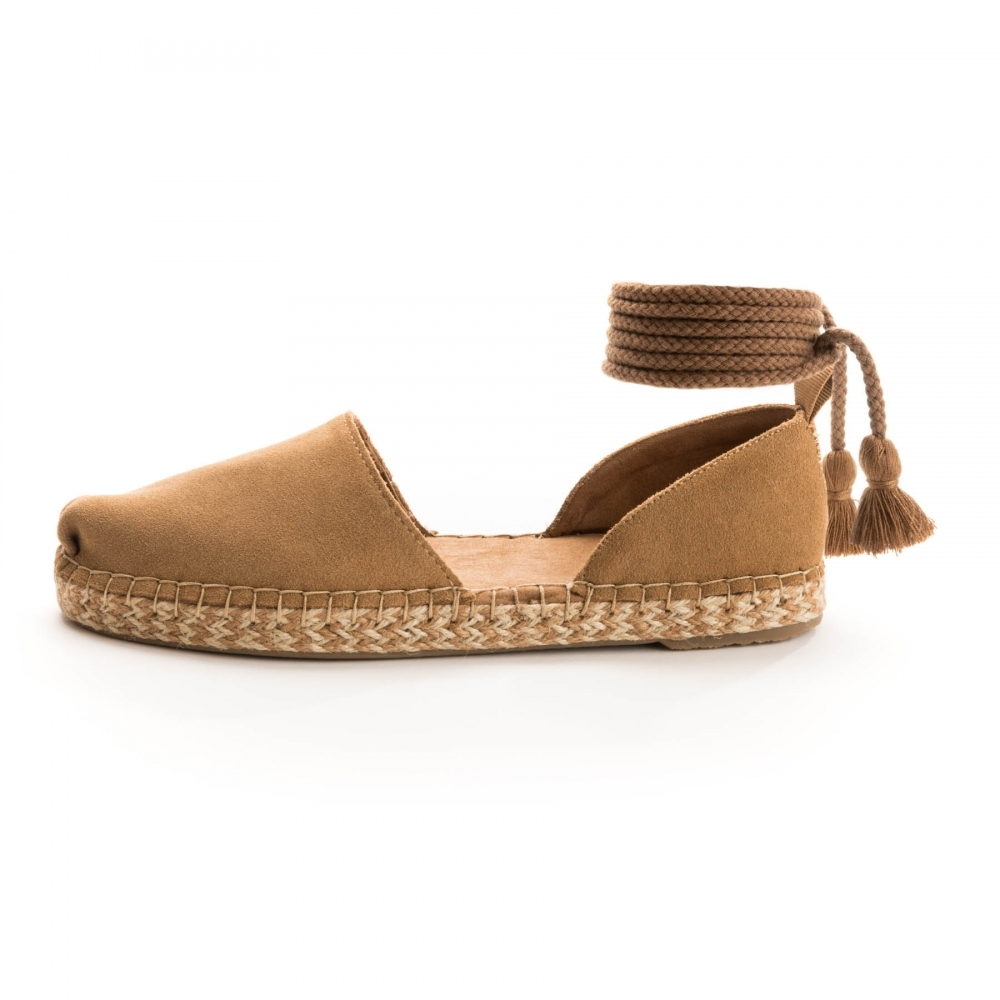 TOMS TOMS Katalina Toffee Suede Womens Espadrille