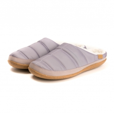 TOMS Lavender Quilted Womens Ivy Slipper