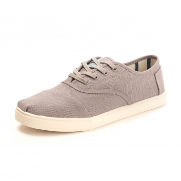 TOMS Morning Dove Heritage Canvas Cordones Womens Sneaker