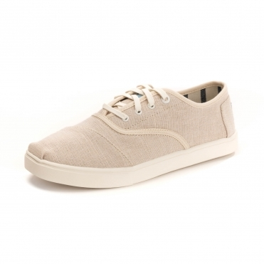 TOMS Natural Heritage Canvas Cordones Womens Sneaker