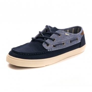 TOMS Navy Heritage Rugged Mens Dordo Caslp