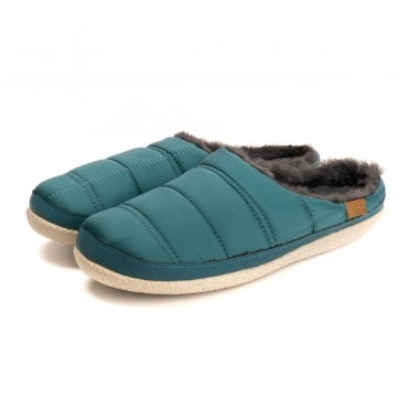 TOMS Stellar Blue Quilted Womens Ivy Slipper