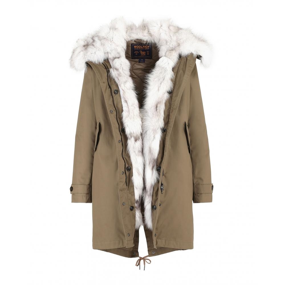 the latest 49e61 de0d8 Woolrich Woolrich Literary Fox Eskimo Womens Jacket