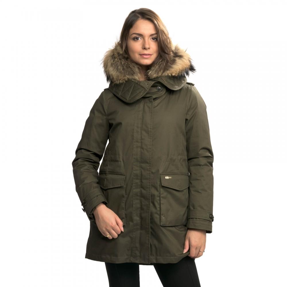 new products eb0a6 da27a Woolrich Woolrich Scarlett Eskimo Womens Jacket